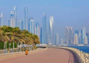 Dubai-Skyline-canal